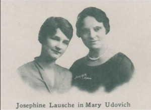 Mary Udovich in Josephine Lausche -